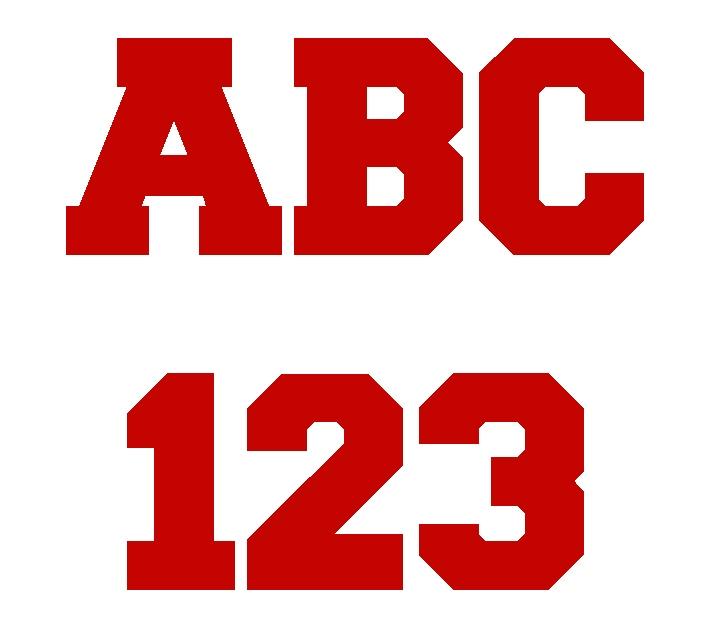 4 Vinyl Numbers Amp Letters Vinpre04 0 00 Vs