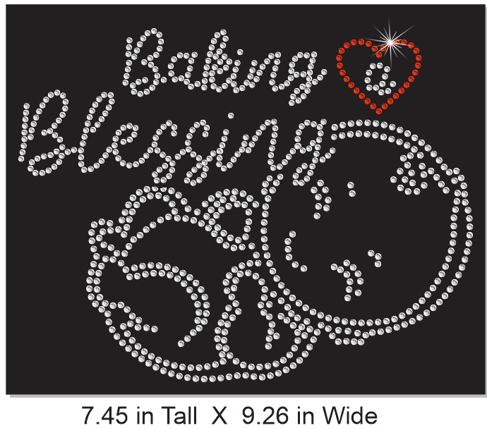 Baking a Blessing Rhinestone Transfer