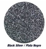 Black Silver (Charcoal) Glitter Vinyl - Select a Size