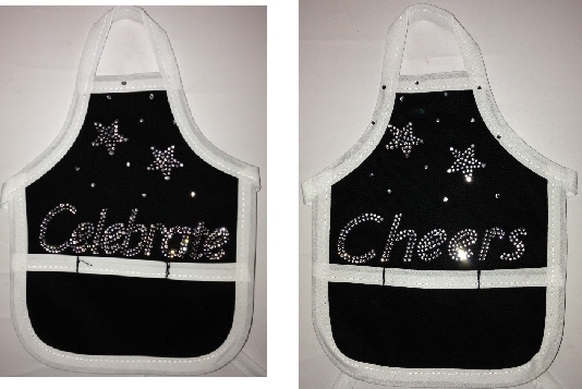 Wine Bottle Aprons - Cheers/Celebrate