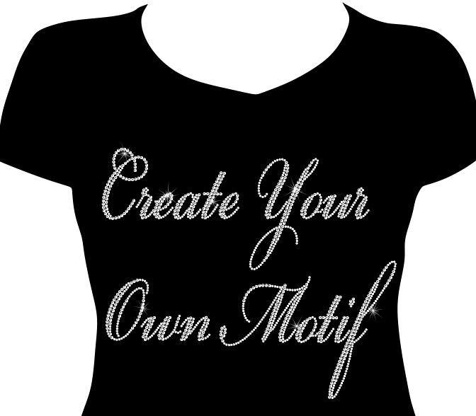 Create your own - Large Double Row Cursive