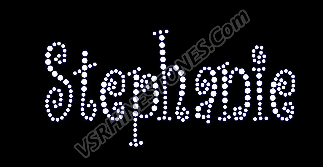 Rhinestone Car Window Decals - Make your own decal for car