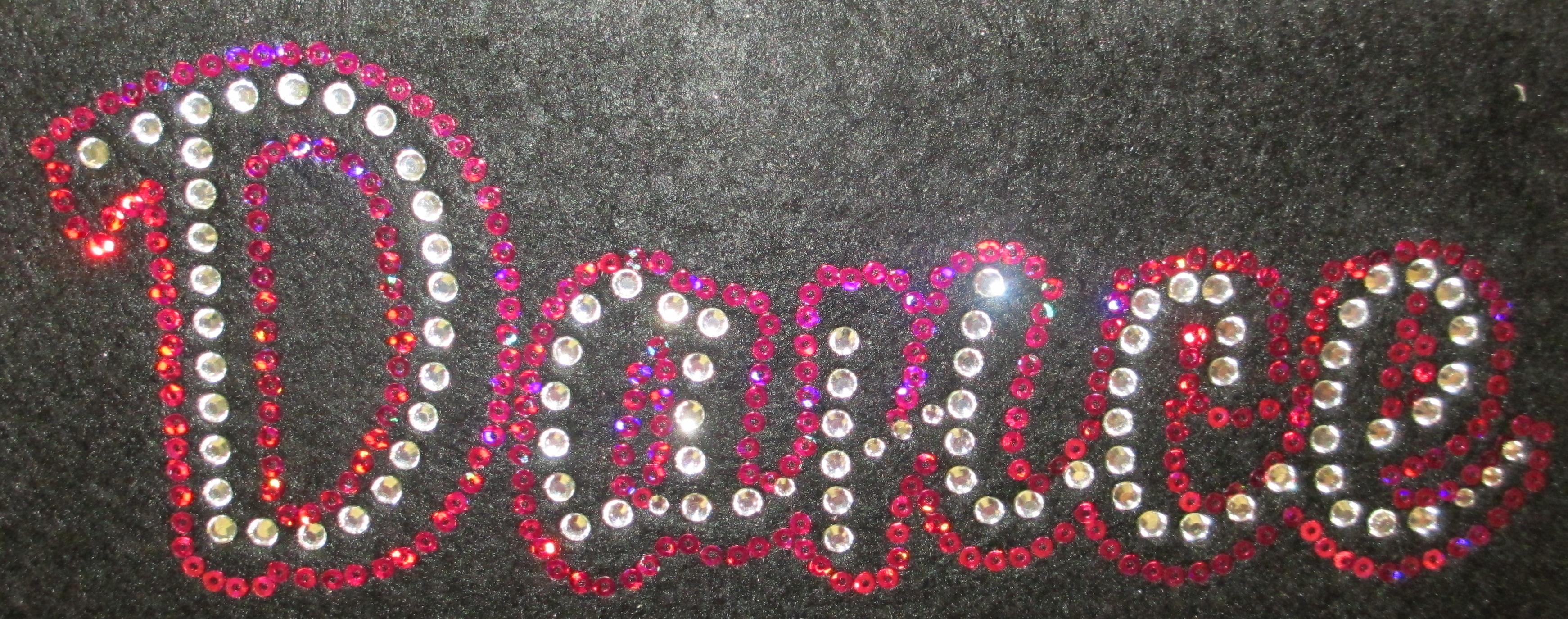 Dance Horizontal Rhinestone and Sequin Transfer Combo (1)