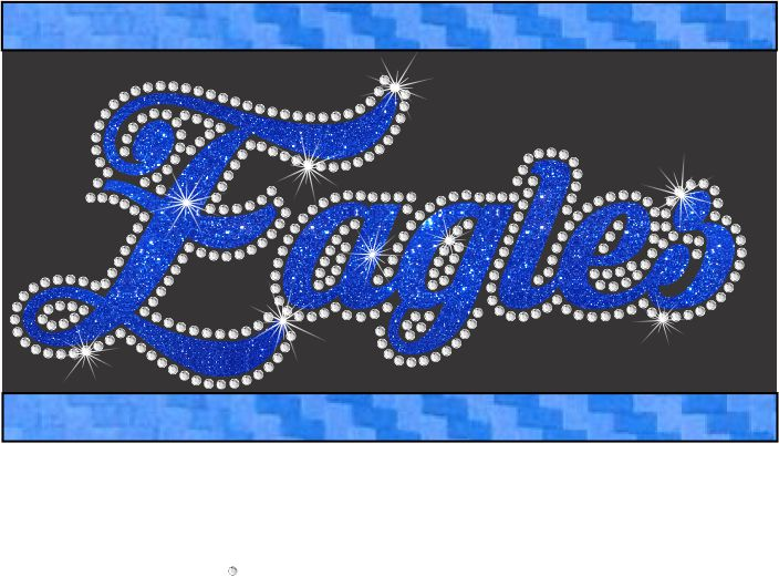 Vinyl and Rhinestone Transfers