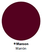 "Easy Weed Maroon 15"" - Select a Size"