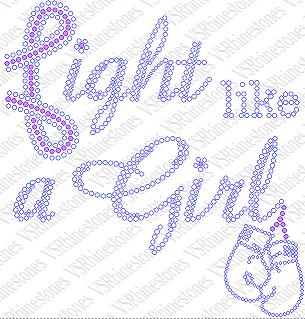 Fight Like a Girl Gloves