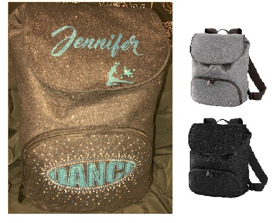 Glitter Backpack - Personalized