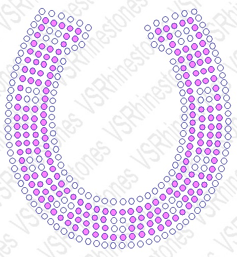 Horseshoe (Color) Car Decal