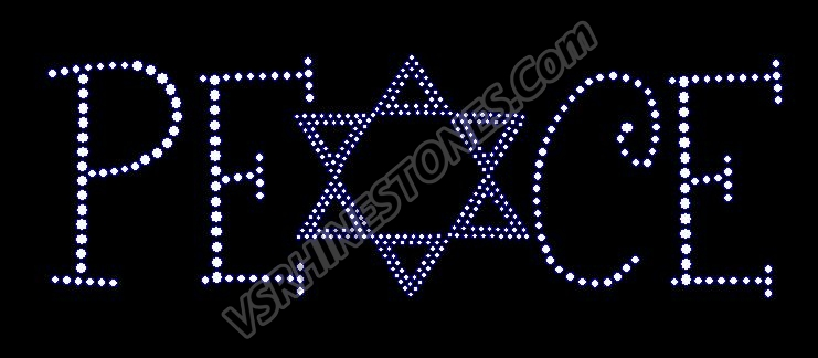 PEACE - Star of David