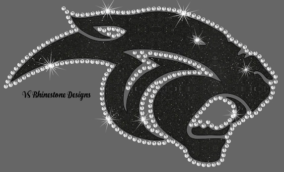 Panther MOL - Rhinestone and Vinyl Cut File Combo