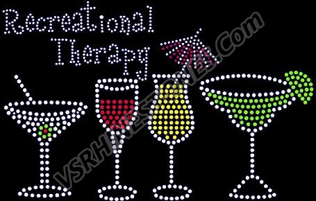 Recreational Therapy Rhinestone Transfer