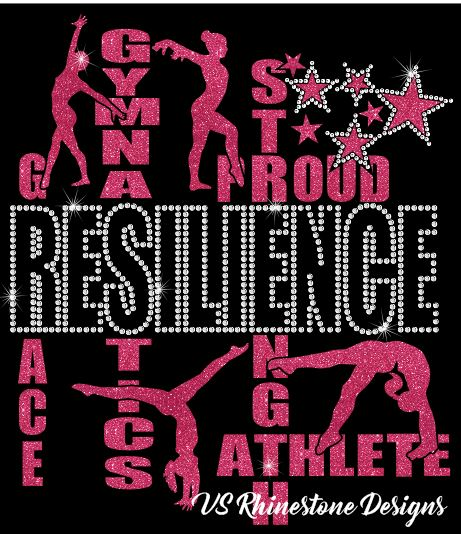 Resilience Vinyl and Rhinestone Transfer