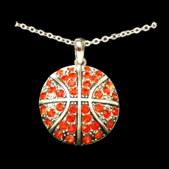 Basketball Cable Necklace
