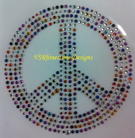 Peace Sign - Mosaic