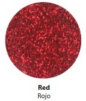Red Glitter Vinyl - Select a Size