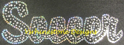SOCCER Rhinestone and Sequin Transfer Combo (12) SELECT COLOR