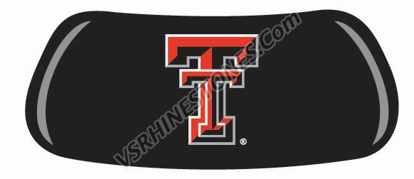 Texas Tech Eye Blacks - set of 2