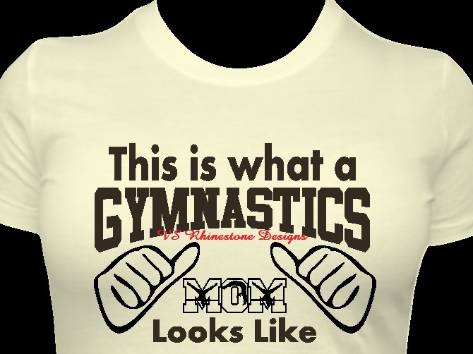 This is what a Gymnastics Mom Vinyl Transfer