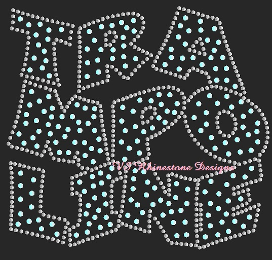 Trampoline Staggered Sequin Transfer - Pink