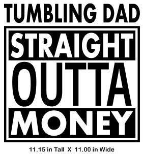 Tumbling Dad - Straight Out Vinyl Transfer