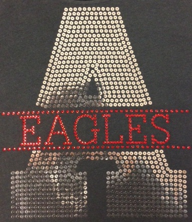 Varsity Sequin and Rhinestone Transfer Combo