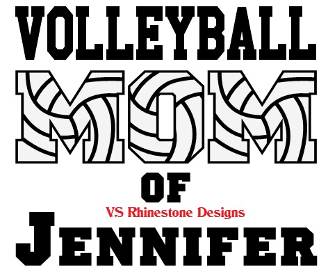 Volleyball Mom OF Create your Own Name