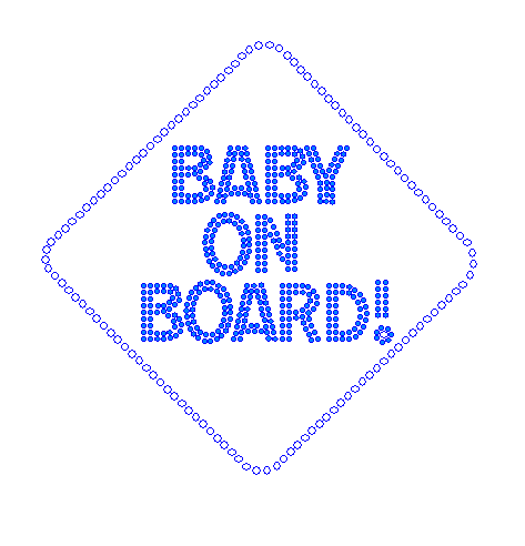Baby on Board - Boy