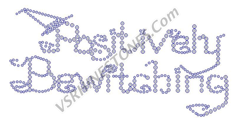 -Positively Bewitching CLEARANCE Rhinestone Transfer