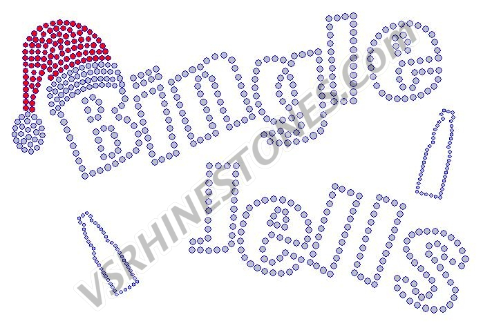 Bingle Jells Beer Rhinestone Transfer