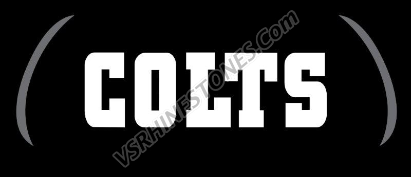 Colts Eye Blacks - set of 2