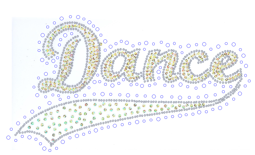 ~Dance Swosh Rhinestone and Sequin Combo - Lime
