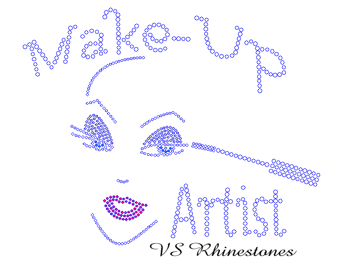 Make-Up Artist Rhinestone Transfer
