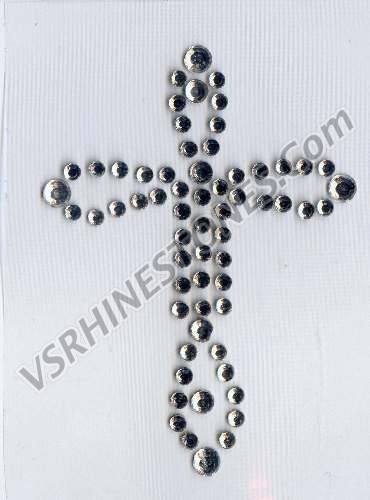 Small Decorative Cross CAR DECAL
