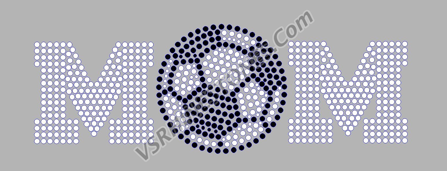 Soccer Mom Rhinestone Car Decal (STOCK)