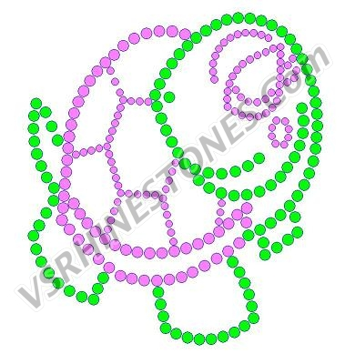 Turtle Rhinestone Transfer - Set of 2
