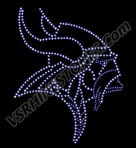 Viking Rhinestone Transfer
