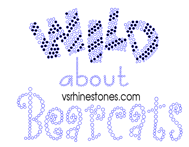 Wild about Bearcats Rhinestone Transfer